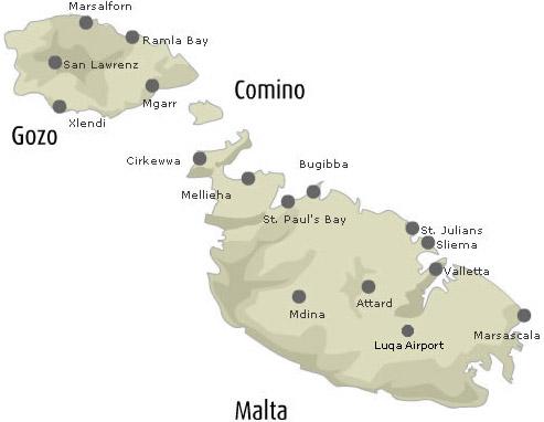 Dove domrire a Malta per le vacanze | La guida di Malta