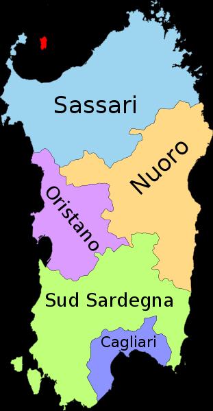 Cartina Sardegna Centro Ovest.Dove Dormire In Sardegna Le Migliori Zone Nel Nord Centro E Sud