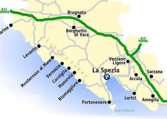 Cartina 5 Terre E Dintorni.Dove Dormire Alle Cinque Terre Le Migliori Zone Piu Strategiche