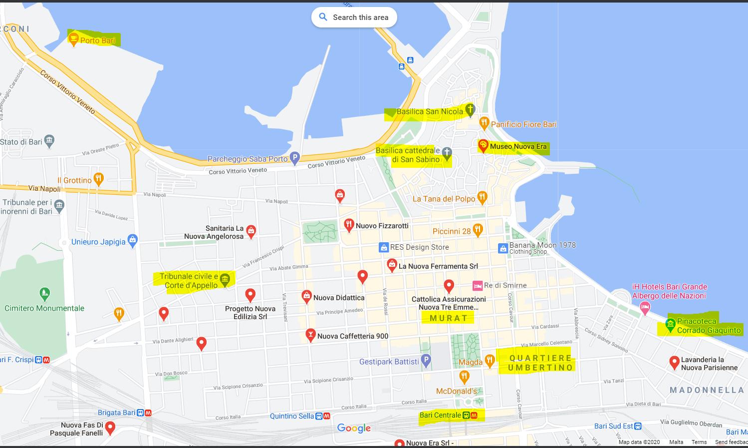 Dove dormire a Bari: le migliori zone dove alloggiare